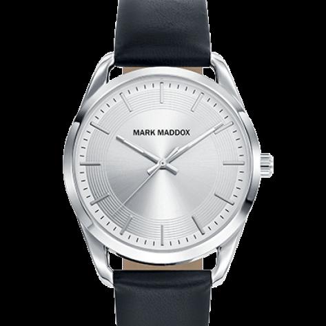 Catia Reloj de hombre Mark Maddox 3 agujas con correa de poliuretano negra