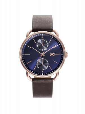 Midtown MULTI STAINLESS STEEL IP ROSE STRAP MAN *** MM