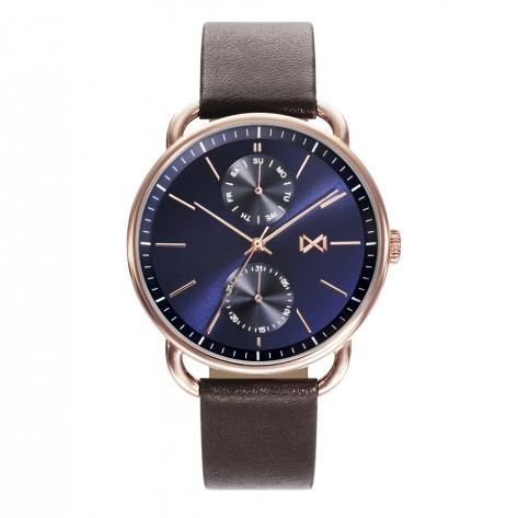 Midtown Reloj de Hombre Mark Maddox Midtown HC7119-37 multifunción de acero IP rosa