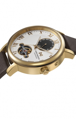 Midtown_ch AUTOMATIC STAINLESS STEEL IP GOLD STRAP MAN MM