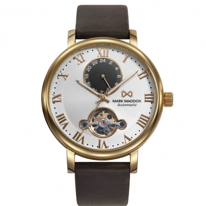 AUTOMATIC STAINLESS STEEL IP GOLD STRAP MAN MM