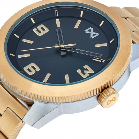 Mission WATCH STAINLESS STEEL IPGOLD BRACELET MEN MISSION