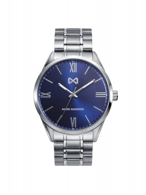 Marais Reloj de Hombre Mark Maddox MARAIS de acero 3 agujas y brazalete