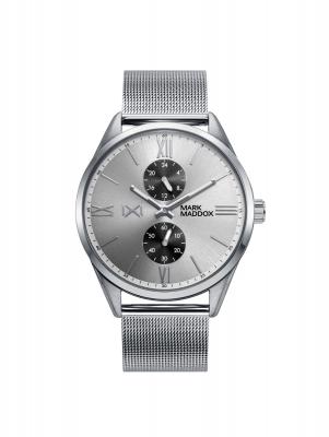 Marais Reloj de Hombre Mark Maddox MARAIS multifunción de acero y malla milanesa