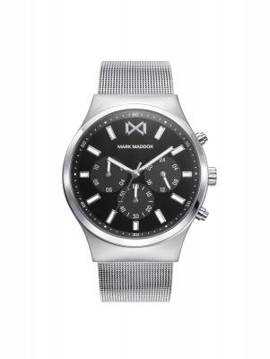 Marais_bh Reloj de Hombre Mark Maddox Marais, multifunción , acero con malla milanesa