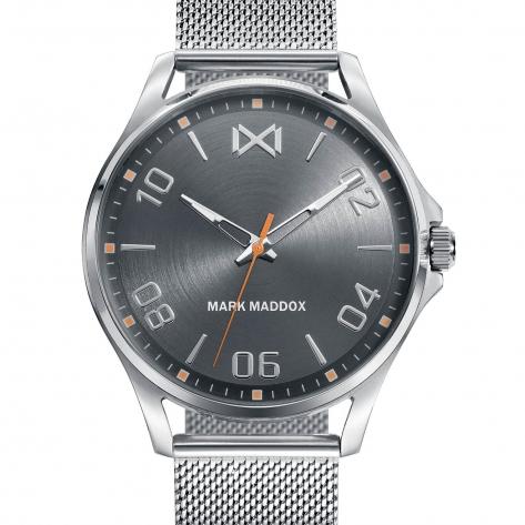Peckham Reloj de hombre Mark Maddox Peckham de acero y malla milanesa