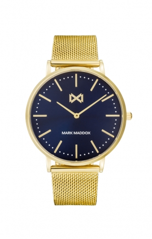 Greenwich STAINLESS STEEL IP GOLD WATCH BRACELET MAN MM
