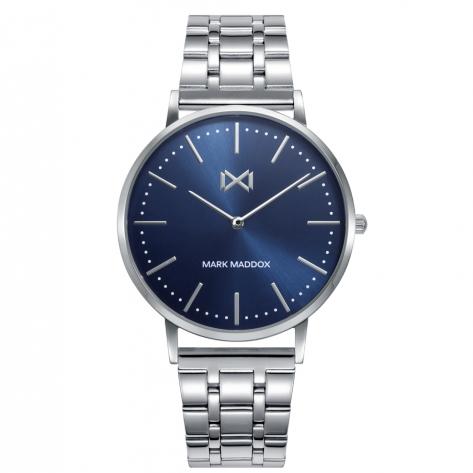 Greenwich Reloj de Hombre Mark Maddox GREENWICH de acero con brazalete
