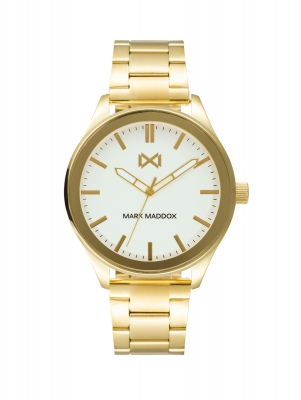 Midtown STAINLESS STEEL WATCH IP GOLD BRACELET MAN MM