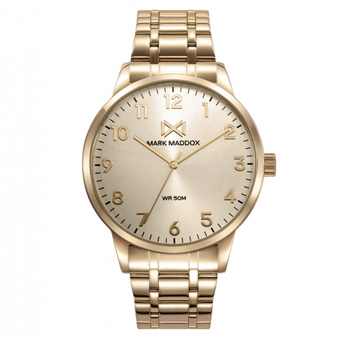 Canal STAINLESS STEEL WATCH IP GOLD BRACELET MAN MM