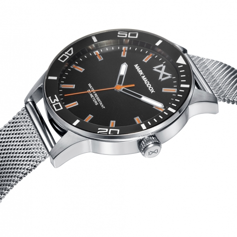 Mission Pack Reloj de Hombre Mark Maddox de acero con brazalete