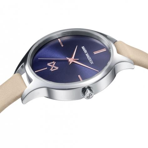 Astoria Mark Maddox Astoria women's watch in steel with leather strap