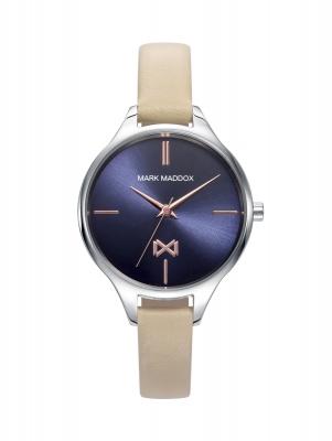Astoria Reloj de mujer Mark Maddox Astoria de acero y correa de piel