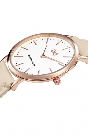 Greenwich STAINLESS STEEL AND IP ROSE STRAP WOMAN GREENWICH