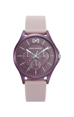 Shibuya MULTI ALUMINIUM BORDEAUX STRAP WOMAN MM
