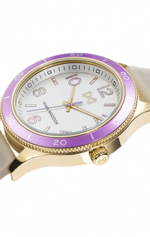 Shibuya STAINLESS STEEL WATCH IP GOLD AND ALUMINIUM STRAP