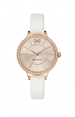 Alfama STAINLESS STEEL WATCH IP ROSE STRAP WOMAN MM