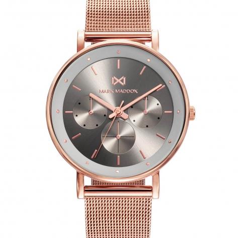 Notting Reloj de Mujer Mark Maddox Notting multifunción de acero con IP rosa