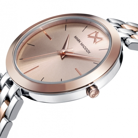 Alfama Women's Watch Mark Maddox Alfama MM0107-97 in stainless steel with pink IP