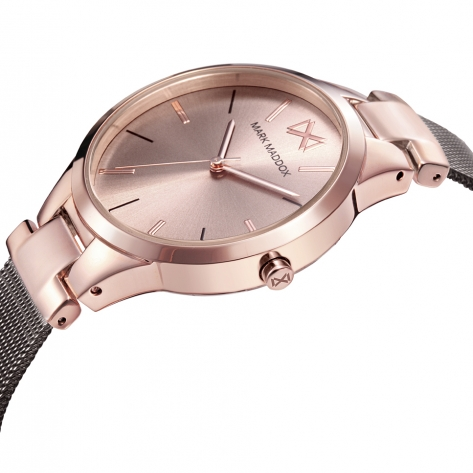 Alfama Women's Watch Mark Maddox Alfama MM0108-97 in steel with pink and brown IP