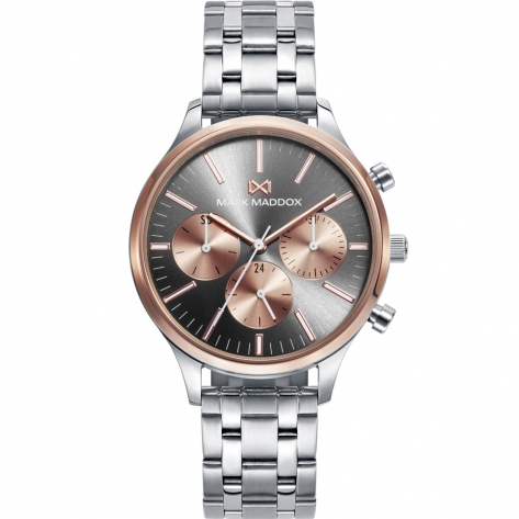 Canal MULTI STAINLESS STEEL AND IP ROSE BRACELET WOMAN