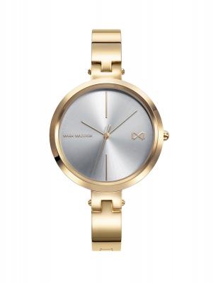 Alfama Reloj de Mujer Mark Maddox Alfama tres agujas de aceroIP dorado y brazalete semirígido