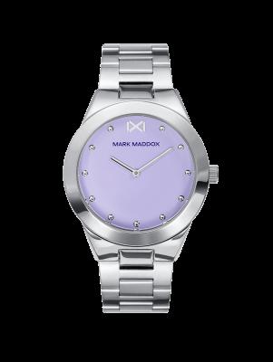 Alfama Reloj de Mujer Mark Maddox Alfama tres agujas de acero y brazalete