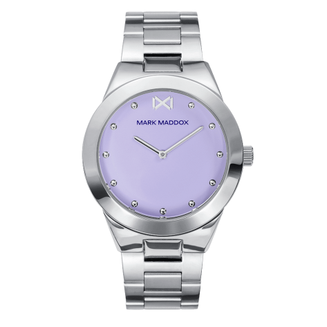Alfama Women's Watch Mark Maddox Marais three hands bicolor steel watch and bracelet