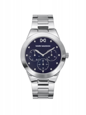 Alfama Reloj de Mujer Mark Maddox Alfama multifunción de acero y brazalete
