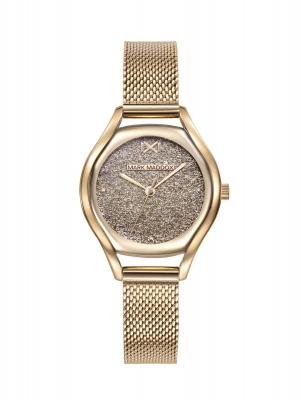 Venice_bm Reloj de Mujer Mark Maddox Venice, tres agujas , acero con malla milanesa dorada