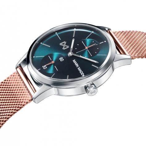 Northern Reloj de Mujer Mark Maddox Northern multifunción de acero y malla milanesa con IP rosa