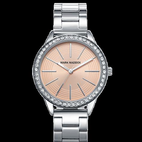 Catia Reloj de mujer Mark Maddox 3 agujas con esfera rosa