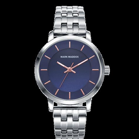 Catia Reloj de mujer Mark Maddox 3 agujas con esfera azul