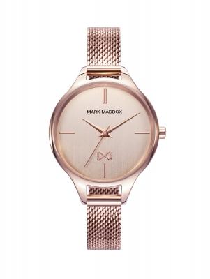 Astoria Reloj de mujer Mark Maddox Astoria de acero con IP rosa