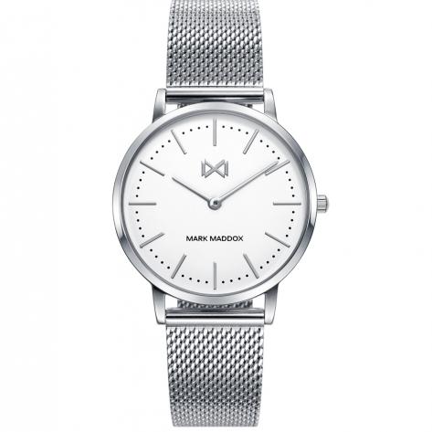 Greenwich Reloj de mujer Mark Maddox Greenwich de acero y malla milanesa