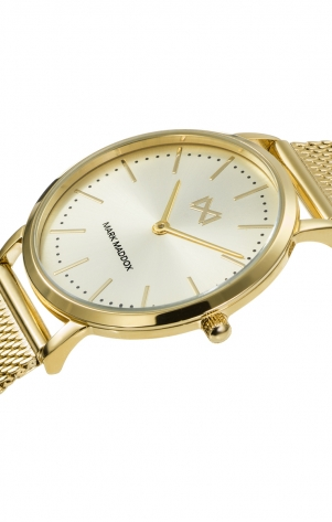 Greenwich STAINLESS STEEL IP GOLD WATCH BRACELET WOMAN MM