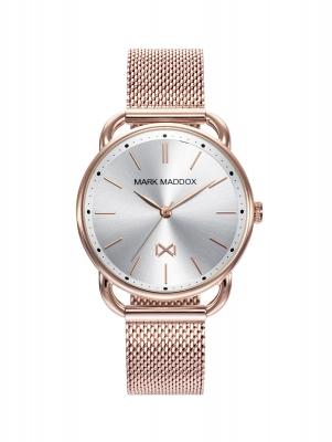 Midtown Reloj de Mujer Mark Maddox Midtown MM7117-07 de acero con IP rosa