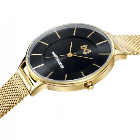 Alfama Set de Mujer Mark Maddox Alfama MM7118-57 compuesto de reloj y pulsera de acero