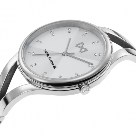 Alfama Women's Watch Mark Maddox Alfama three hands steel and bracelet
