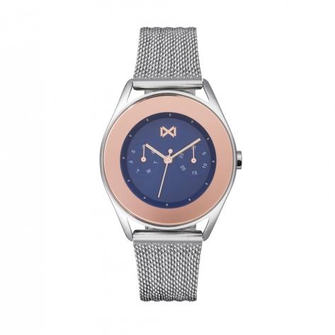 Venice_bm Reloj de Mujer Mark Maddox Venice multifunción de acero y malla milanesa