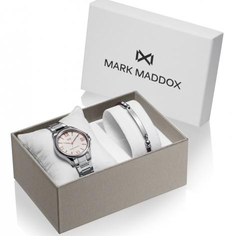 Tooting Pack Reloj de Hombre Mark Maddox de acero con brazalete
