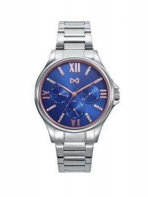 Tooting_bm Reloj de Mujer Mark Maddox TOOTING de acero multifunción con piedras en esfera y brazalete