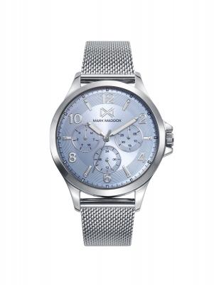 Tooting_bm Reloj de Mujer Mark Maddox Tooting, multifunción , acero con malla milanesa