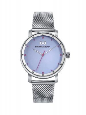 Midtown_bm Reloj de Mujer Mark Maddox Midtown,tres agujas, acero con malla milanesa