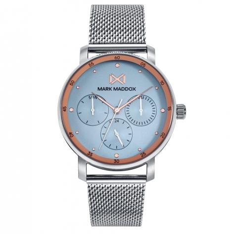 Midtown Reloj de Mujer Mark Maddox Midtown,multifunción , acero con brazalete